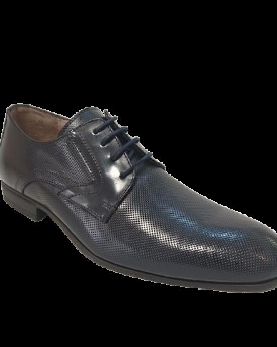 Sapato Azul Picotado